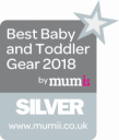 Award Best Baby and Toddler Gear 2018 by mumii
