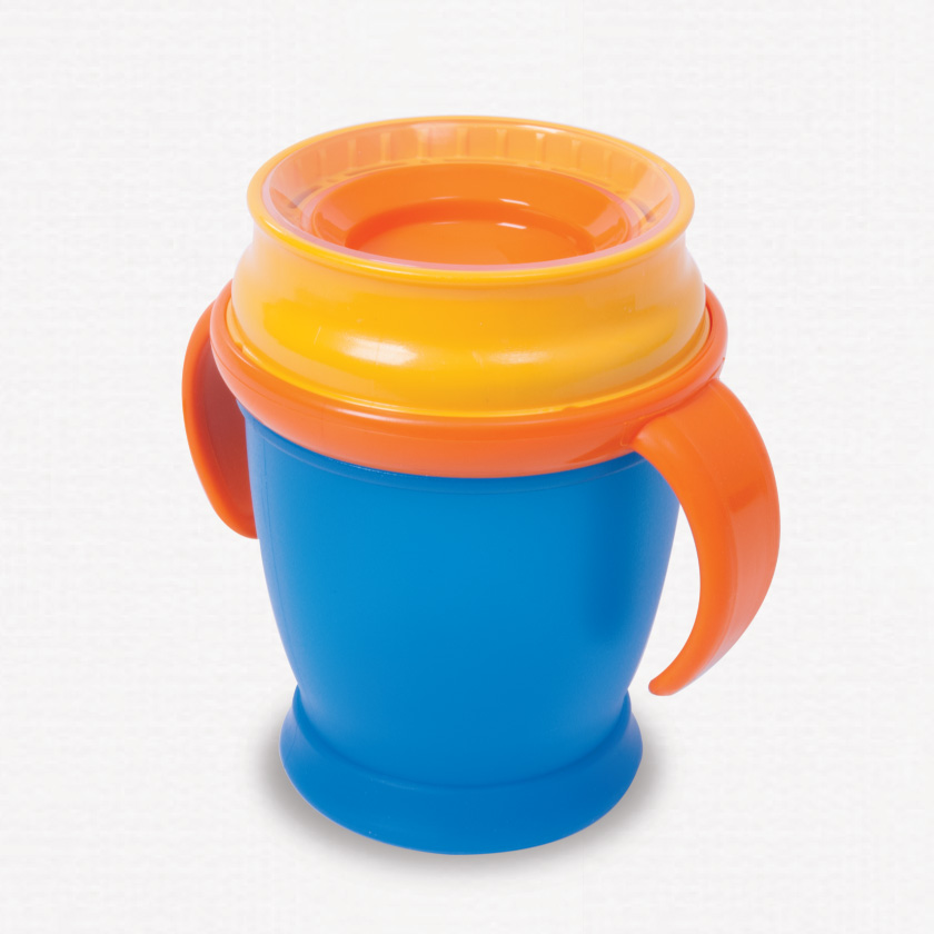 360 toddler cup blue