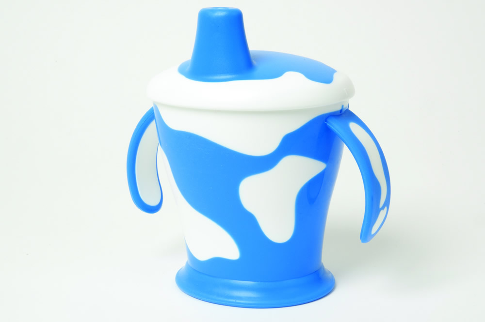 Cow cup blue