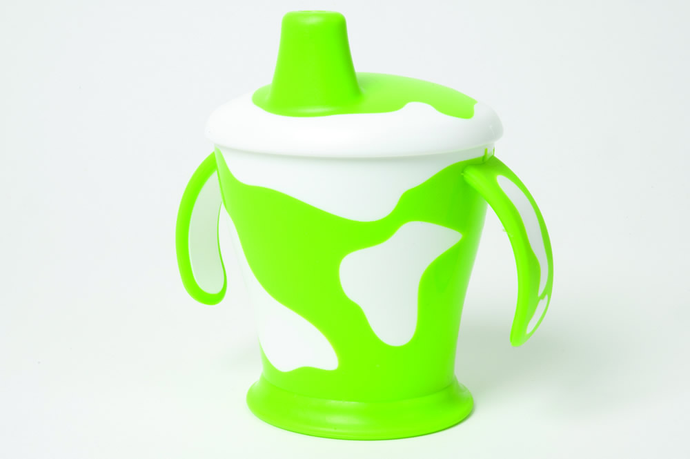 Cow cup green