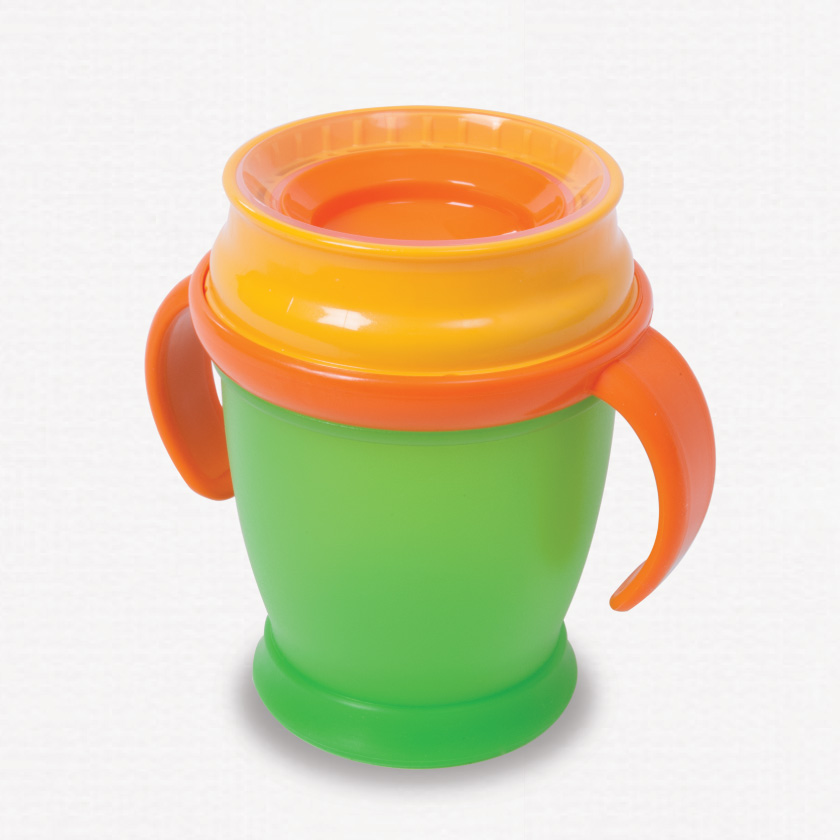 360 toddler cup green