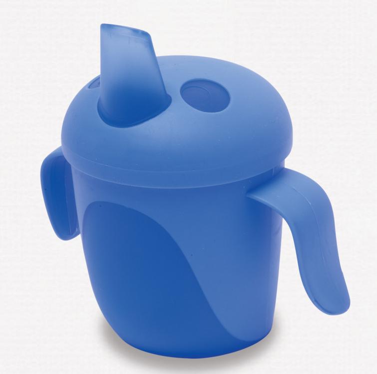 Bird cup blue