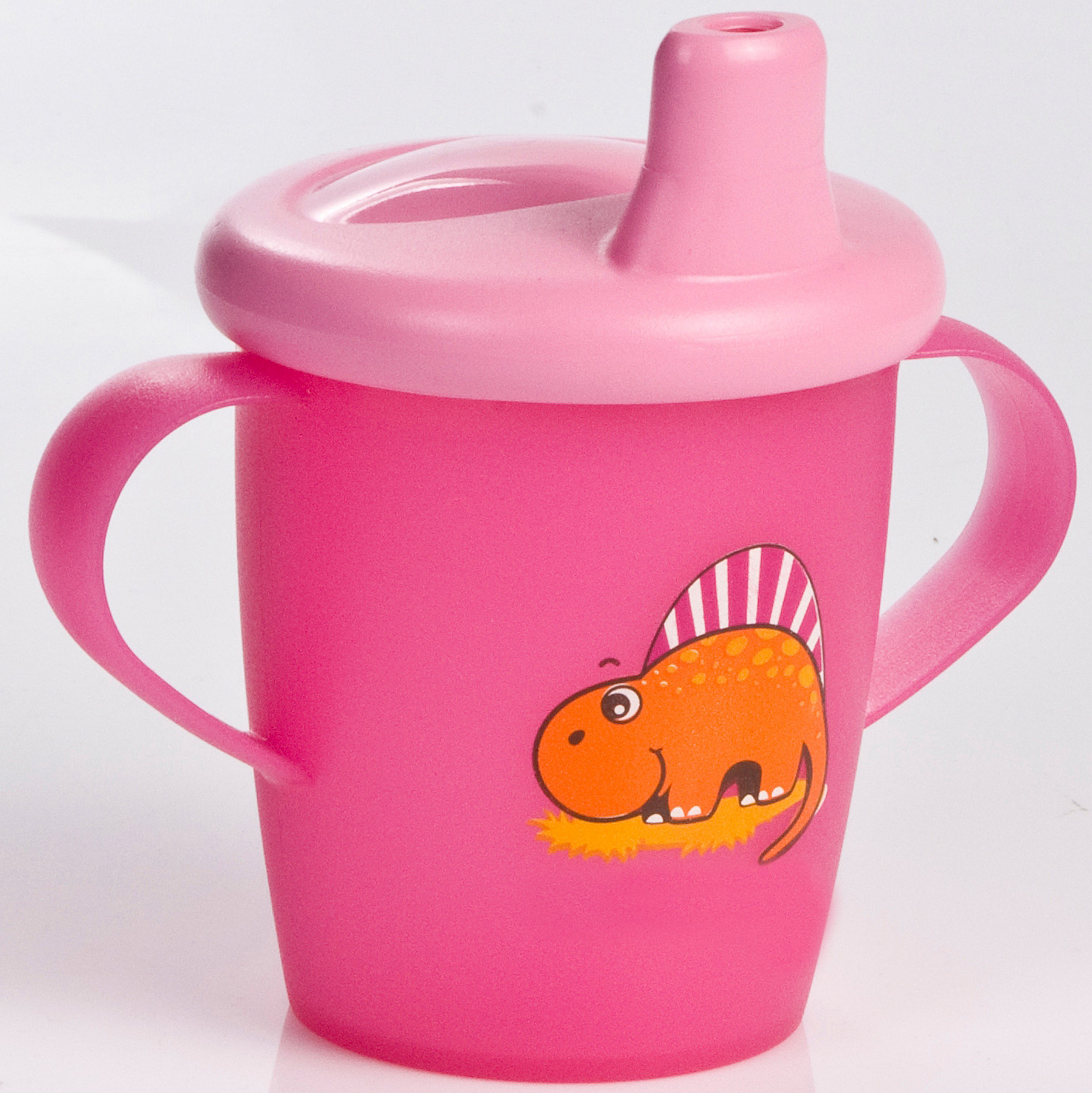 Dino cup pink
