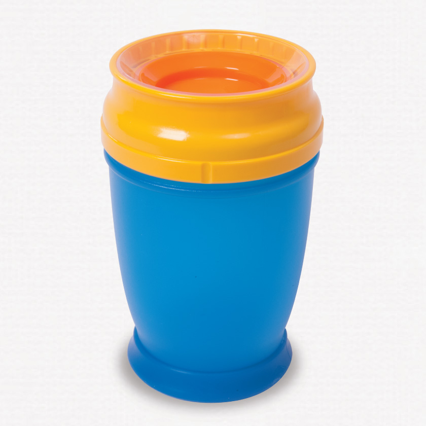 360 beaker cup blue