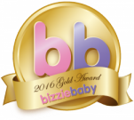 Award Bizzie Baby 2016 gold